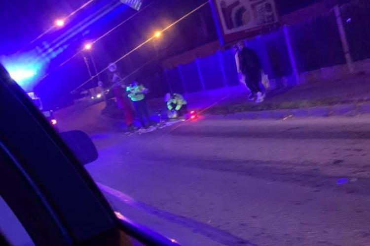 Un trotinetist s-a accidentat pe strada Frunzișului, varianta Zorilor - Mănăștur - FOTO