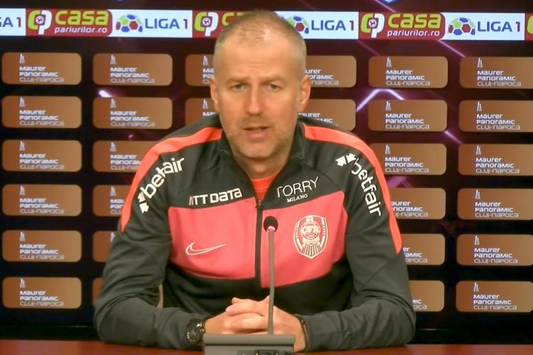 Edi Iordănescu va face curățenie la CFR Cluj: Vrem titlul - VIDEO