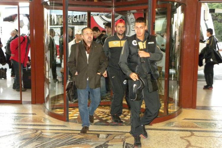 Jucatorii Universitatii Cluj au ajuns in cantonamentul din Antalya. Vezi imagini din Turcia!