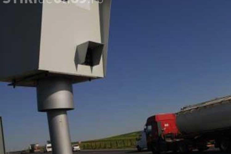 Radarele fixe ar putea fi reintroduse pe ruta Cluj - Zalau