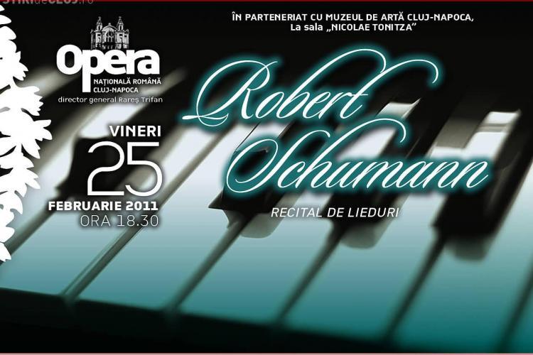 Recital de lieduri, vineri, 25 februarie, la Muzeul de Arta din Cluj!