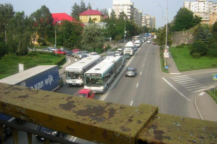 202.000 de masini inmatriculate in Cluj. Judetul are cel de-al treilea parc auto din tara