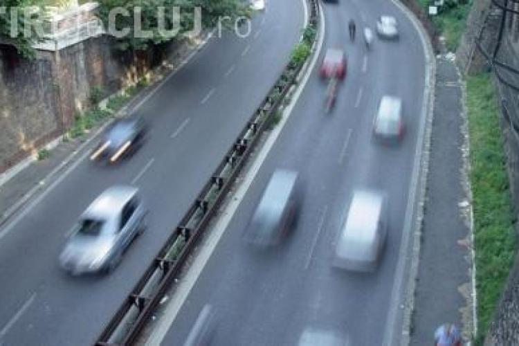 A crescut limita de viteza pentru autoturisme! VEZI lista localitatilor din judetul Cluj