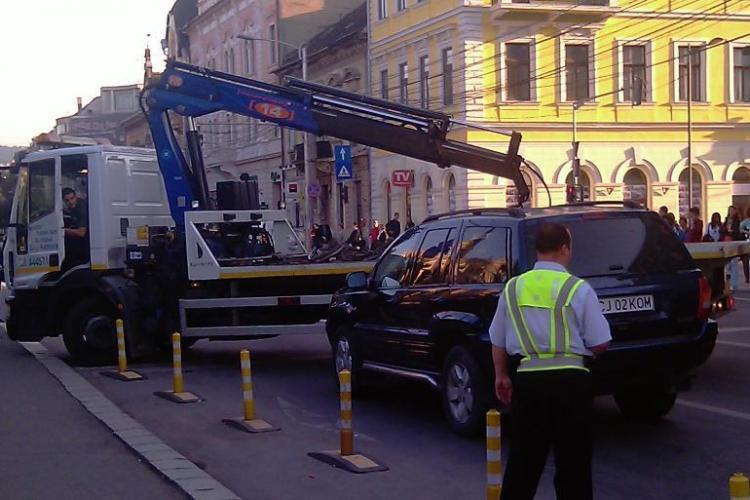 Bilantul Politiei Comunitare Cluj la 5 ani de existenta: 11.500 de masini ridicate si 12.600 blocate