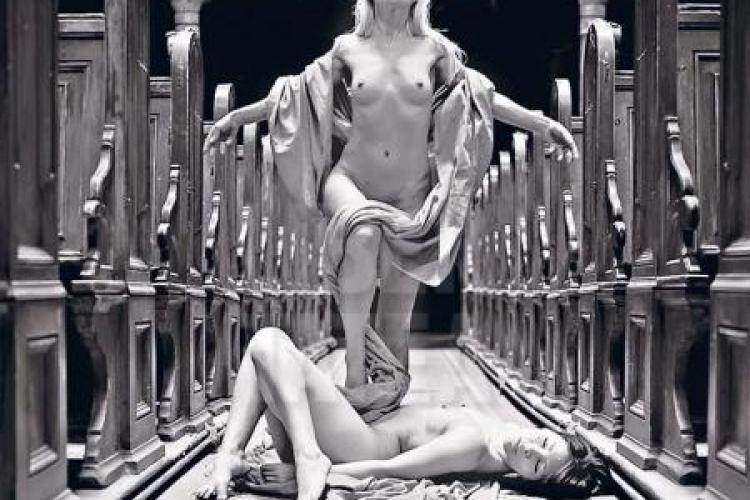 Un PDL -ist fotografiaza femei goale in biserica Vezi FOTO