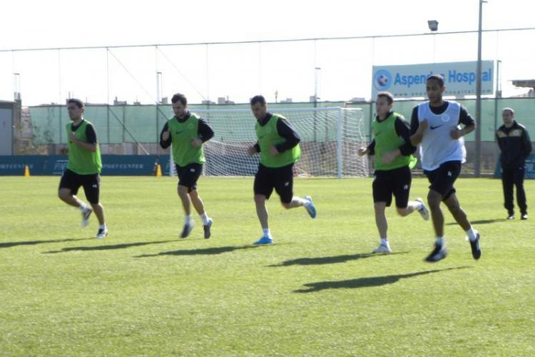Primul amical pierdut de studenti in Antalya: Universitatea Cluj-Anzhi Makhachkala 0-1