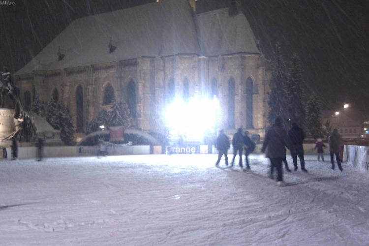 Ninge ca in povesti la Cluj Napoca! VEZI FOTO si prognoza meteo pe urmatoarele doua zile