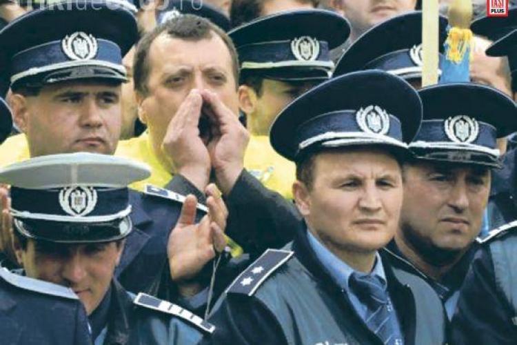 "Sindicalistii din IPJ Cluj ii bat obrazul sefului IGPR, chestorul Liviu Popa: ""Ne jigneste ca sa ne poata da afara!"""