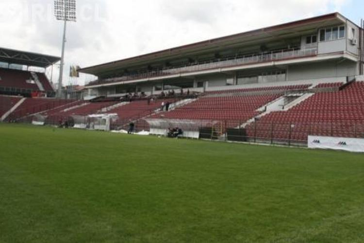 Stadionul din Gruia se deschide vizitatorilor pe internet. Vezi cum poti vedea de acasa stadionul campioanei!