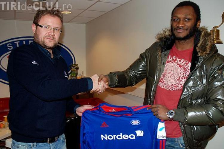 Fostul jucator al CFR Cluj, Yssouf Kone, a semnat un contract cu formatia norvegiana Valerenga