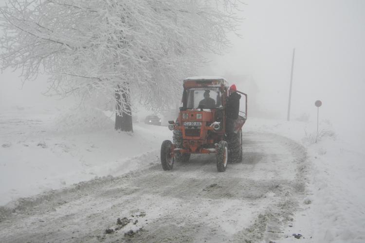 Cluj: Nu sunt drumuri judetene blocate!