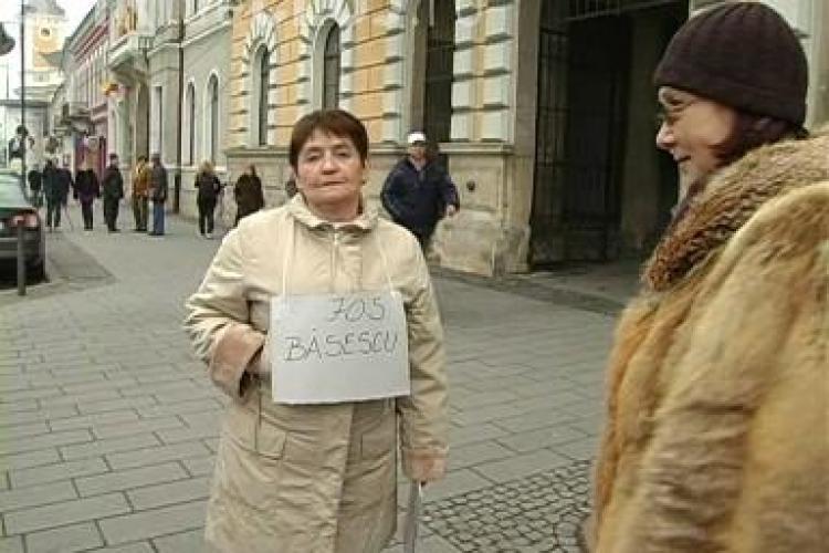 Alice Rotta continua protestul, iar de saptamana viitoare lanseaza mitingul tacerii