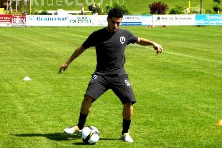 Mijlocasul Universitatii Cluj, Helder Castro, imprumutat la Sporting Club Portimonense