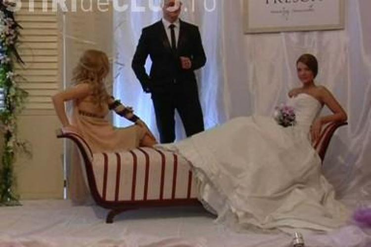 """Targul """"Nunta la Palat"""" 2011 a adus la Cluj rochii, bijuterii si aranjamente florale pentru nunti de vis - VIDEO"""