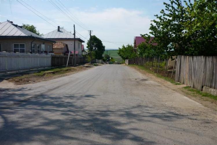 Drumurile din comuna Aiton, asfaltate de firma CRIDOV