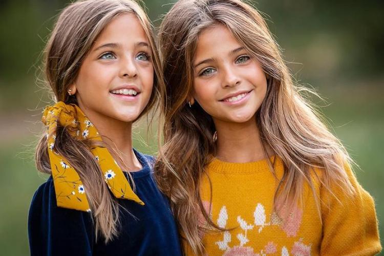 """Cum arată cele mai """"frumoase gemene din lume"""" și mama lor - FOTO"""