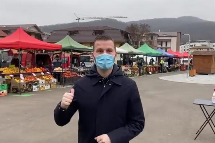 VIDEO: S-a deschis prima piaţă volantă din Floreşti. În ce zile va mai fi deschisă piața volantă