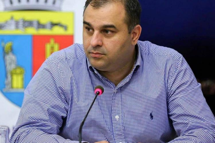 Viceprimarul Clujului are COVID-19