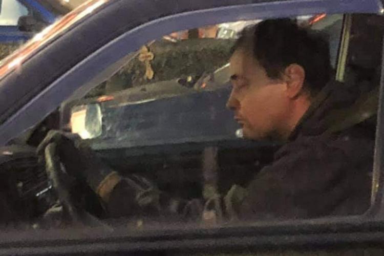 "Șofer în trafic la Cluj, dormind la volan: ""Mare grija la el, că nu prea vede drumul"" - FOTO"