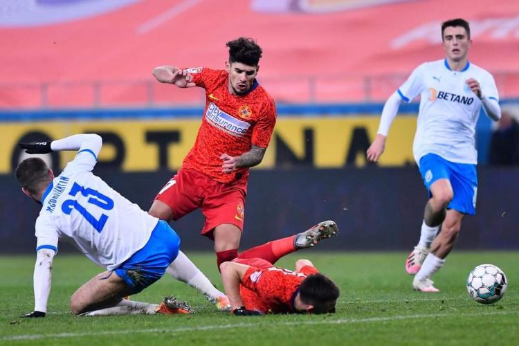 """Oltenii au """"uitat"""" să iasă de la vestiare, iar FCSB a fost singură pe teren în repriza a doua a meciului de pe """"Ion Oblemenco"""""""