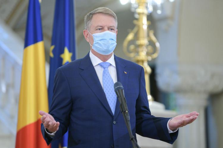 Iohannis ține o nouă ședință de lucru privind gestionarea pandemiei Covid