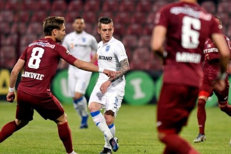 Doar un egal pentru CFR Cluj în duelul cu Craiova
