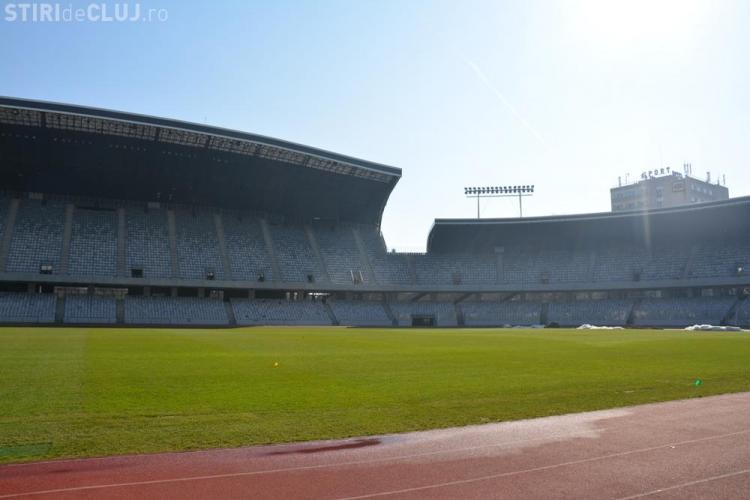 Gazonul de pe Cluj Arena nu va fi schimbat până în 2023, când va avea loc la Cluj o grupa din Campionatul European