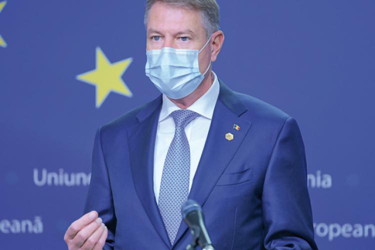 Klaus Iohannis nu a fost lăsat să se vaccineze primul