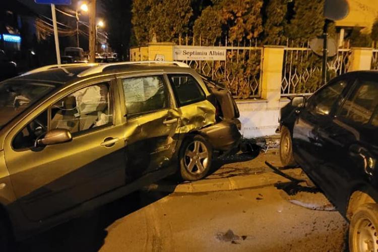 Accident în Gheorgheni, pe strada Albini. A fost neacordare de prioritate - FOTO