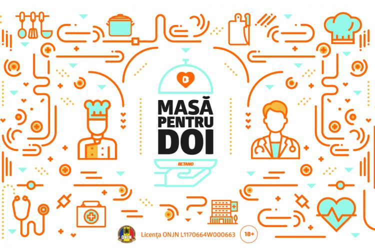 """BETANO sprijină la Cluj și alte 3 orașe cadrele medicale din linia întâi prin acordarea a 15.000 de mese calde. Ce este proiectul """"Masă pentru Doi"""""""