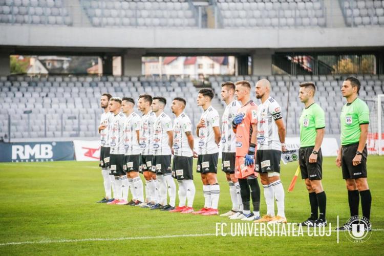Tamaș bate de unul sigur Ripensia și duce pe U Cluj pe loc de play-off