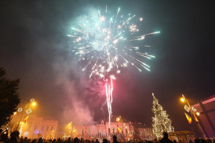 De ce a ANULAT Turda focul de artificii din noaptea de Revelion 2021