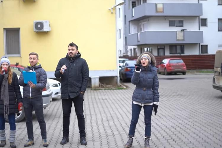 Magie în Florești! O nouă zi cu colinde pe 30 de străzi din localitate - VIDEO