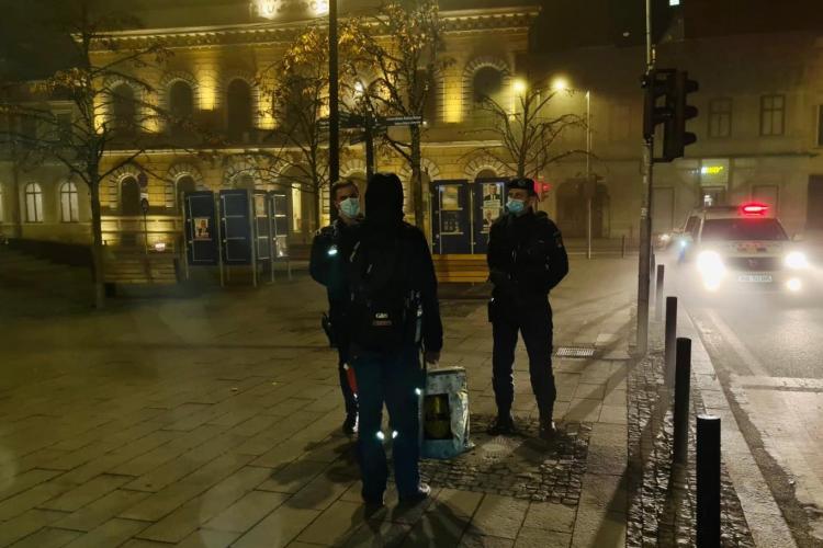Câți clujeni au fost amendați într-o singură seară pentru încălcarea restricțiilor de circulație pe timp de noapte