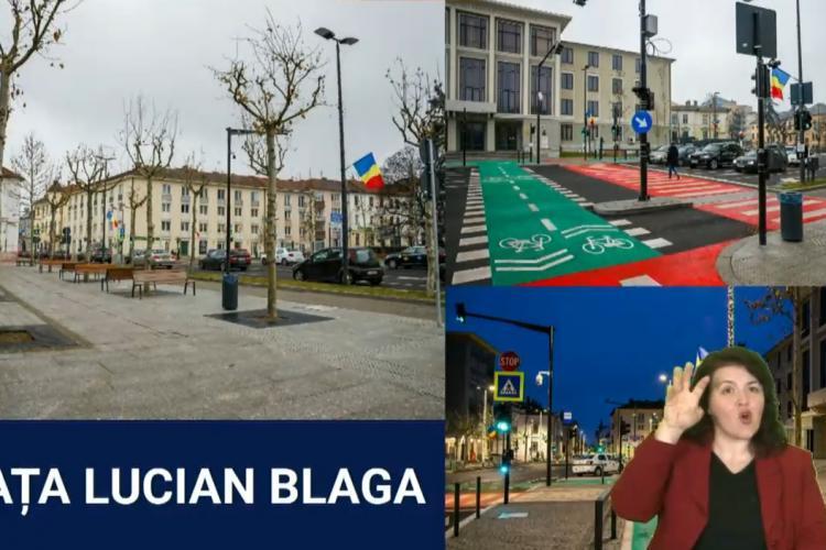 Piața Lucian Blaga este atât de smart încât are 52 de senzori, numără mașinile în funcție de aglomerație - FOTO