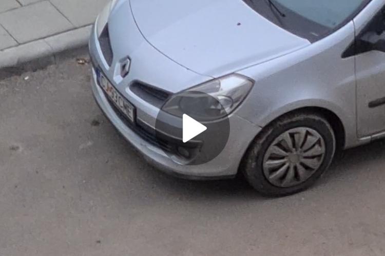 Cluj: Bărbatul care s-a masturbat într-un autoturism Bolt a fost reținut de poliție - EXCLUSIV