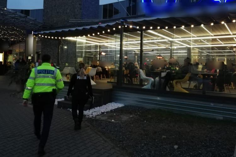 TUPEU de Cluj! Mai multe localuri din VIVO! Mall au fost amendate pentru că serveau clienții în spații închise FOTO