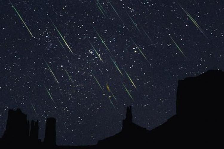 Prima ploaie de stele căzătoare din 2021, poate fi observată în această noapte