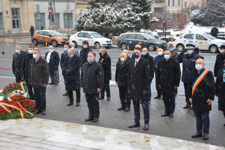 Consiliul Județean Cluj a omagiat memoria poetului Mihai Eminescu