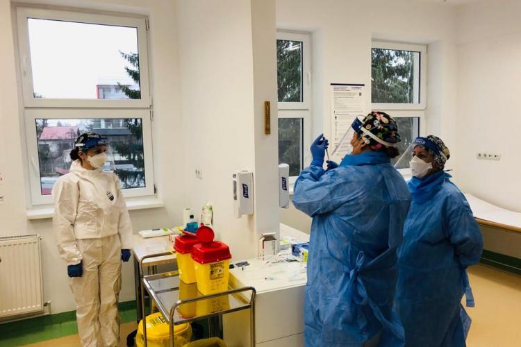 Cluj: 1.384 medici s-au vaccinat în ultima zi. Scade numărul celor cu efecte adverse