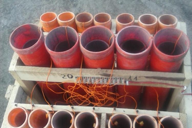 La Cluj-Napoca s-a încercat punea în vânzare a unor articole pirotehnice destinate profesioniștilor din domeniu