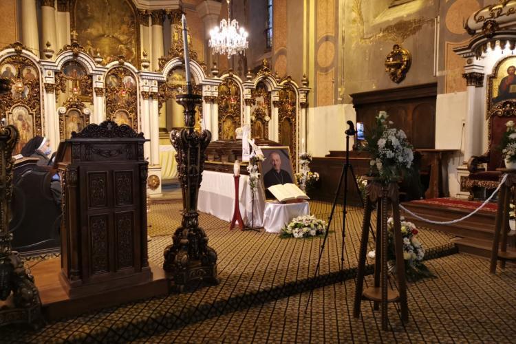 Restricții de circulație la Cluj-Napoca, pentru înmormântarea Episcopului Florentin Crihălmeanu