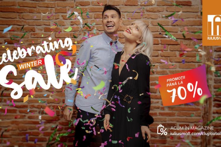 Celebrating Winter Sale! Descoperă reducerile de până la 70% în magazinele din Iulius Mall Cluj (P)