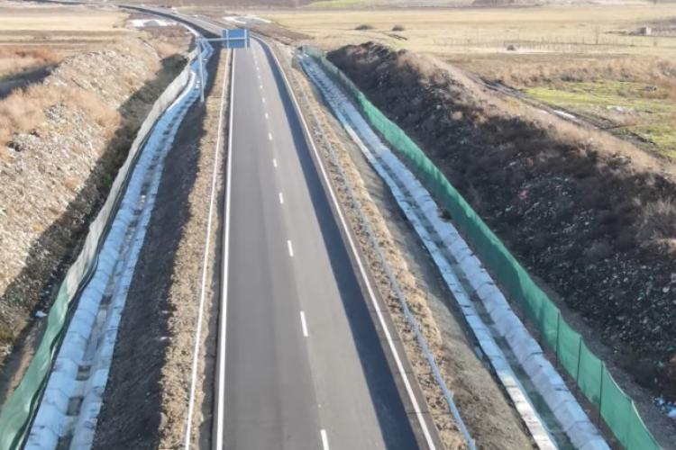 Autostrada Sebeș-Turda trece prin mijlocul unei gropi de gunoi - VIDEO