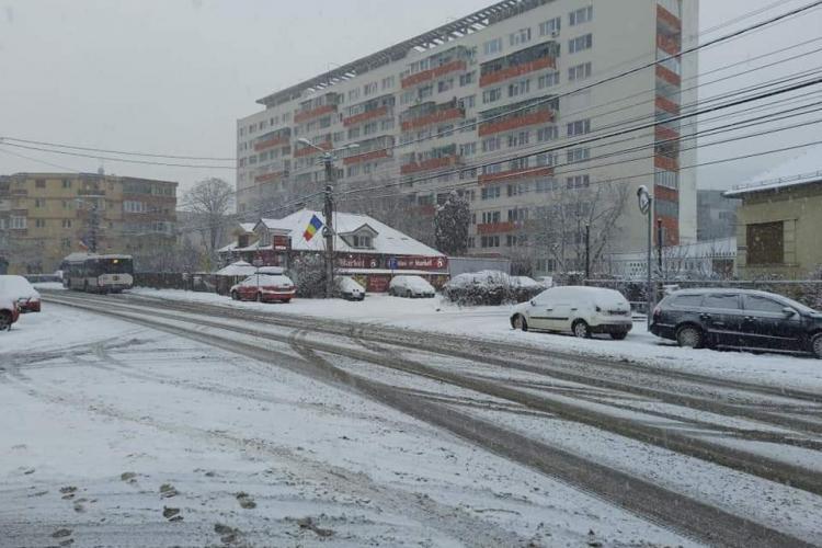 A venit iarna la Cluj și ne-a prins pe nepregătite: Iarna nu-i ca vara! - VIDEO