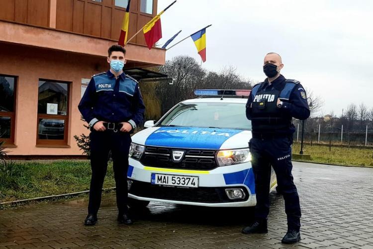 Polițiști eroi la Cluj! Doi agenți din Câmpia Turzii au imobilizat patru șmecheri - FOTO