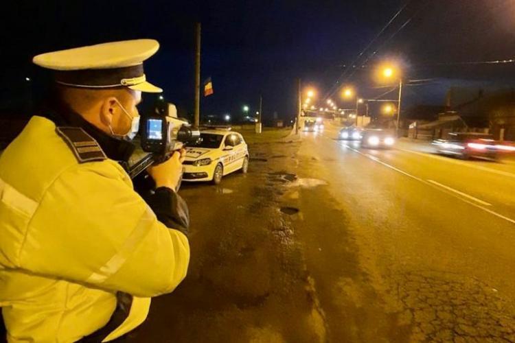 Controale în trafic la Cluj-Napoca! Câți șoferi beți și câți vitezomani au fost prinși FOTO