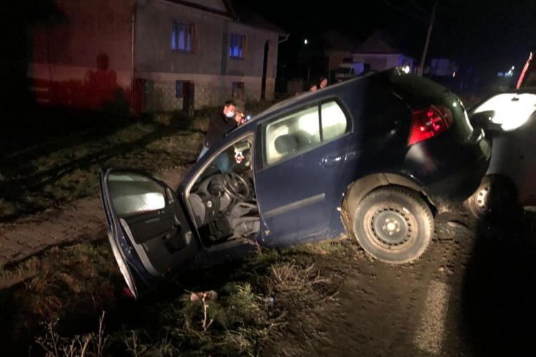Accident cu patru răniți în Bistrița Năsăud - FOTO