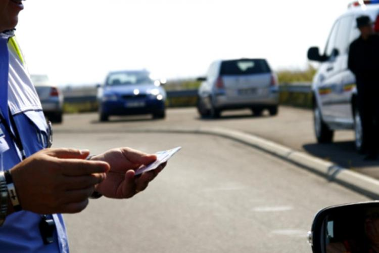 Șoferii vitezomani din Gherla, prinși de polițiști