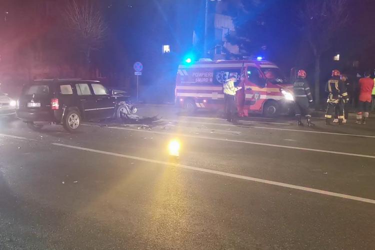Accident pe strada Observatorului. O persoană a fost rănită - VIDEO